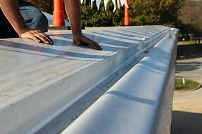 Membrane lining box gutters