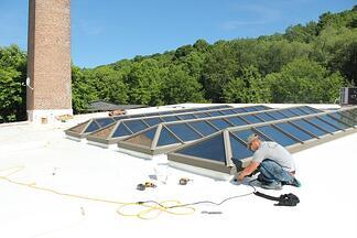 duro last flat roof