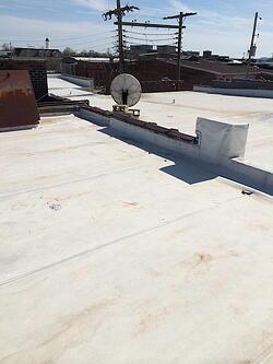 Grindlay flat roof repair 2