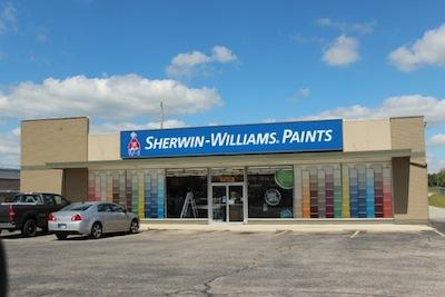 Indiana Flat Roof Repair Saves Sherwin Williams Inventory