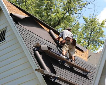 Roofing shingles and materials for extreme applications for Names of roofing materials