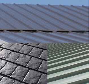 Costs of standing seam metal roofs compared to other metal for Most expensive roof material