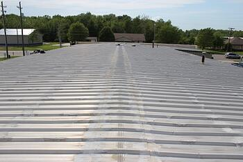 after that the common problems that lead to the need for metal roof repair include - Flat Metal Roof