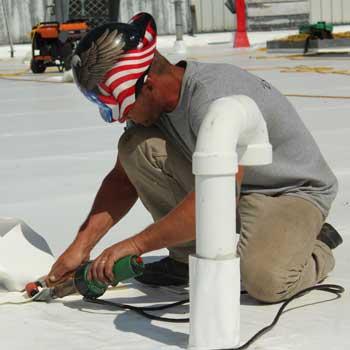 Exterior Pro Flat Roof Repair