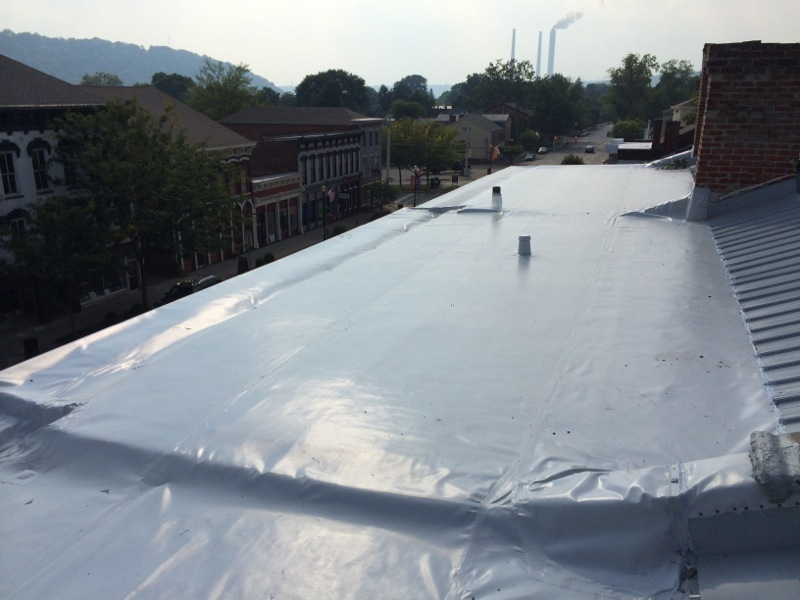 Greves_TV_new_PVC_roof_and_Box_Gutters