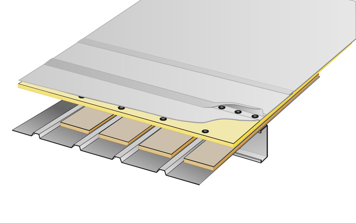 metal roof overlay