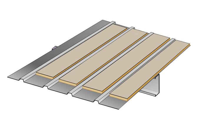 metal roof insulation