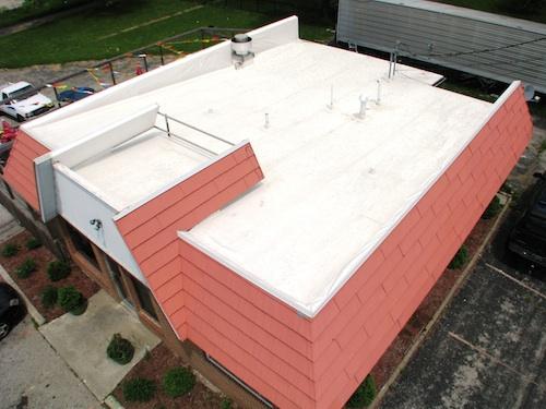 Single Ply Roof Repair