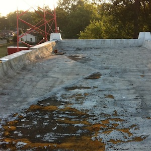 Flat Roofs Leaking Across Southern Indiana From Harsh 2013 Winter
