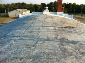Indiana leaking barrel roof