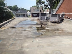 Roof Puddles