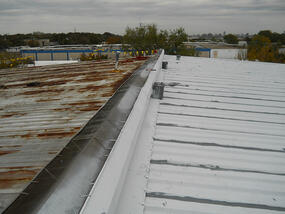 Metal roofing coating  contractor