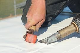 flat roof welding membrane