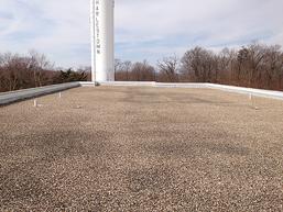 built up flat roof