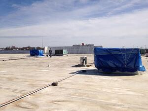 duro roof, hvac
