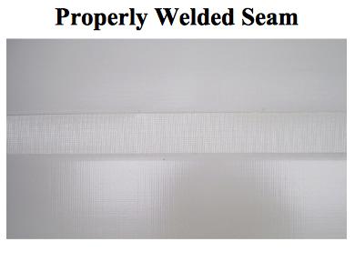 proper seam weld duro