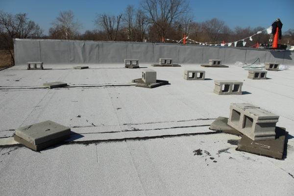 BUR flat roof