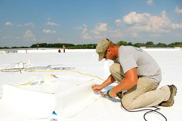 Flat Roof Repair Pvc Recover System How It Works