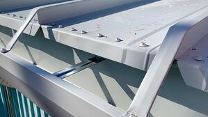 Seam cap for Standing seam metal roof 138T