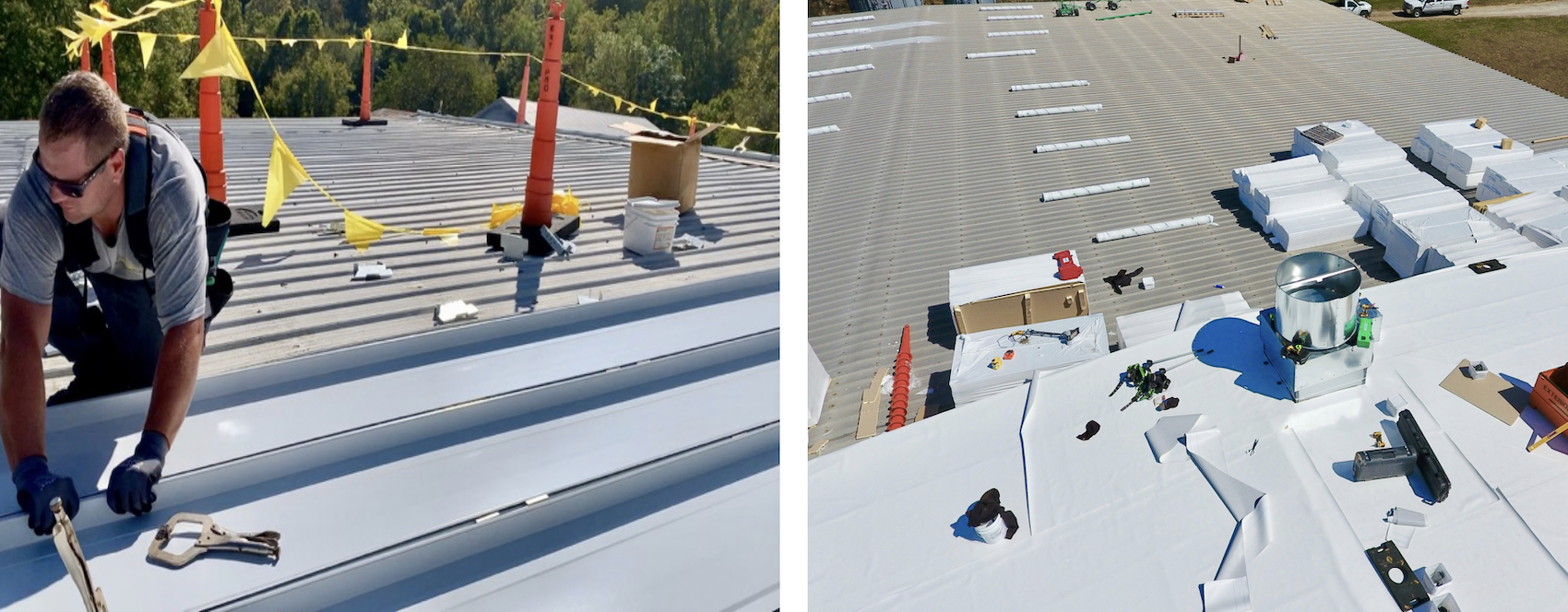 Metal Roof Repair options