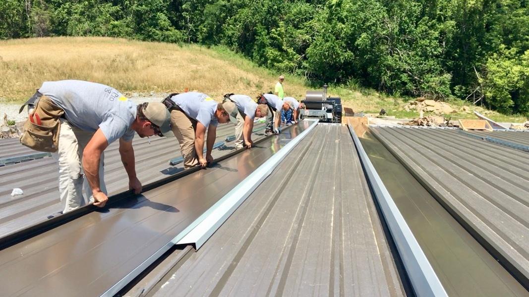 Metal Roof Repair-1