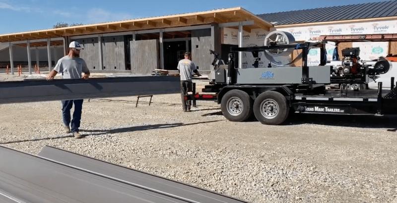 Onside Standing Seam Metal Roof panels