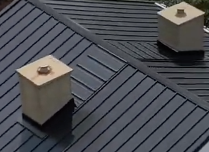 Traverse Panels behind chimneys and penetrations