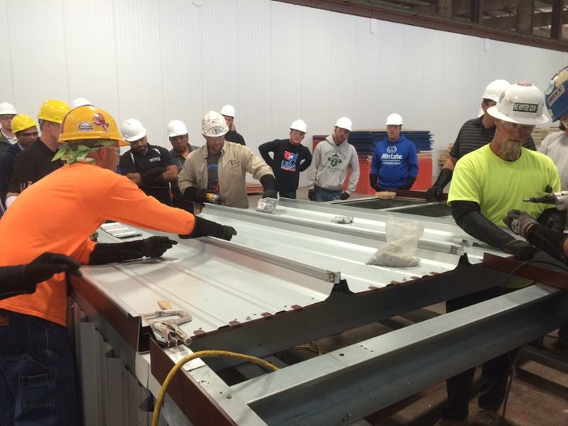 Training STANDING SEAM METAL-1