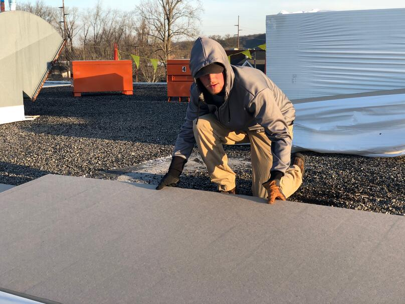 Flat Roof Repair DuroLast Repair- Absac