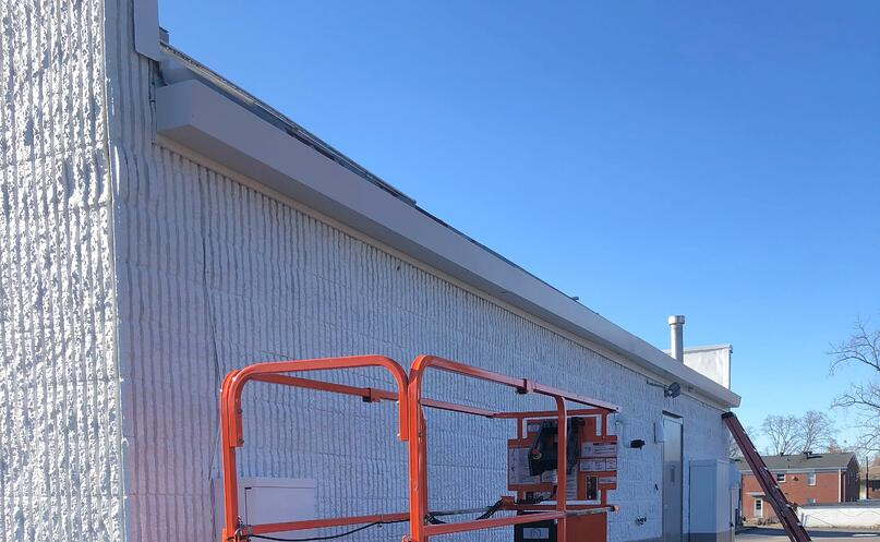 Commercial Guttering Installation-Louisville