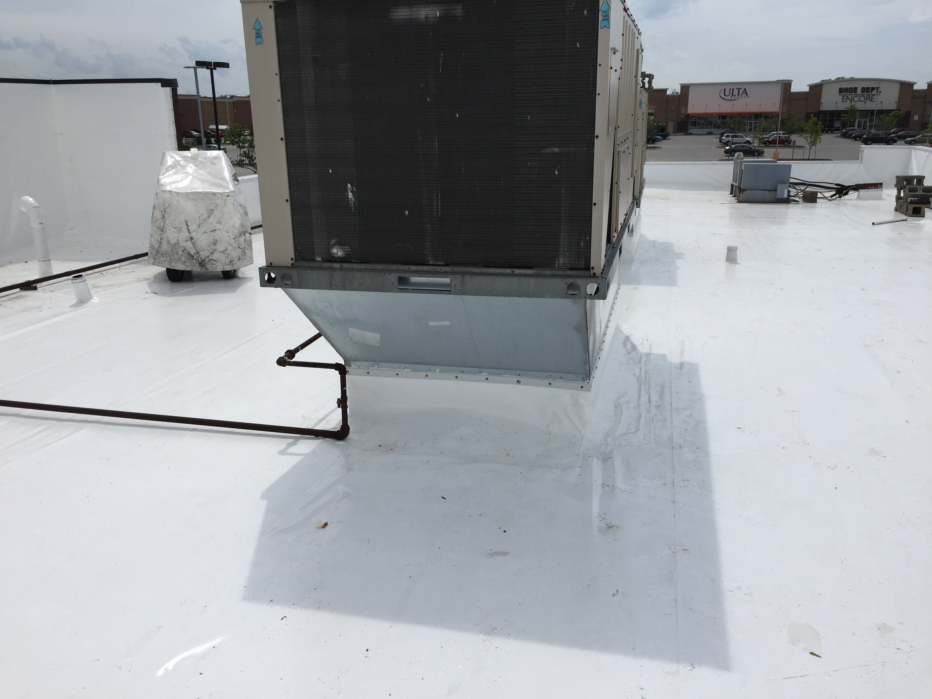 Flat Roof Repair Welding Roof Vents- Franklin