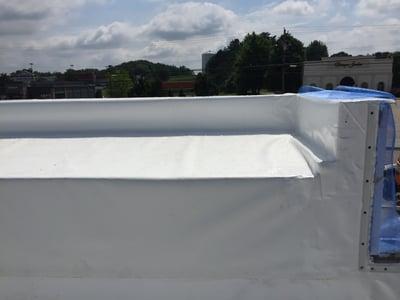 Flat Roof Repair Angle 1 - Jasper