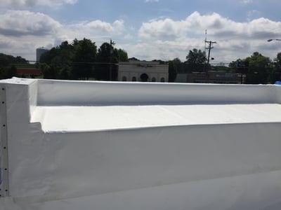Flat Roof Repair Angle 2 - Jasper