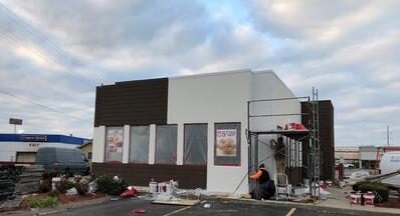 Flat Roof Repair New Metal Coping Installation