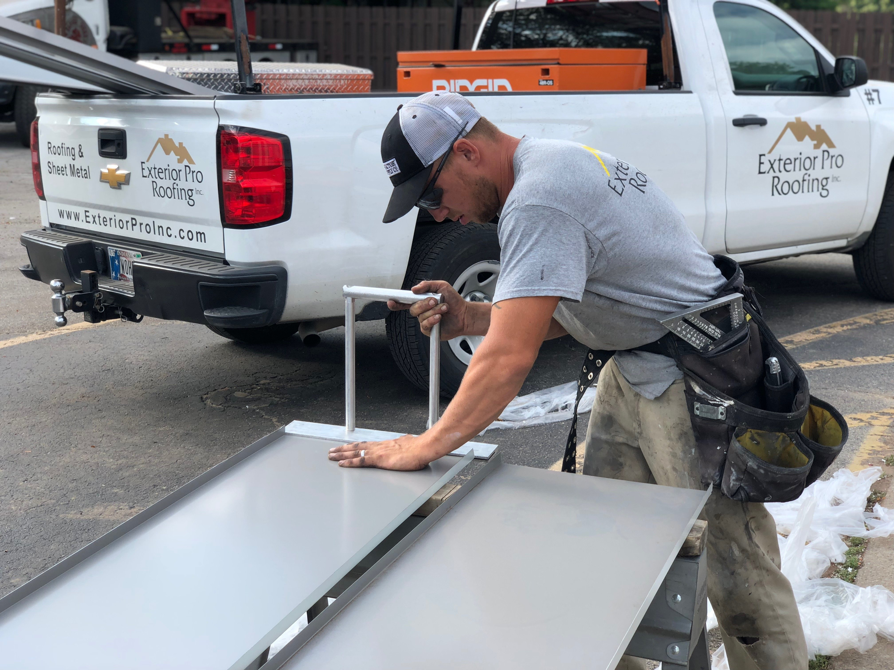 Standing Seam Metal Roof Fabirication-Winchester