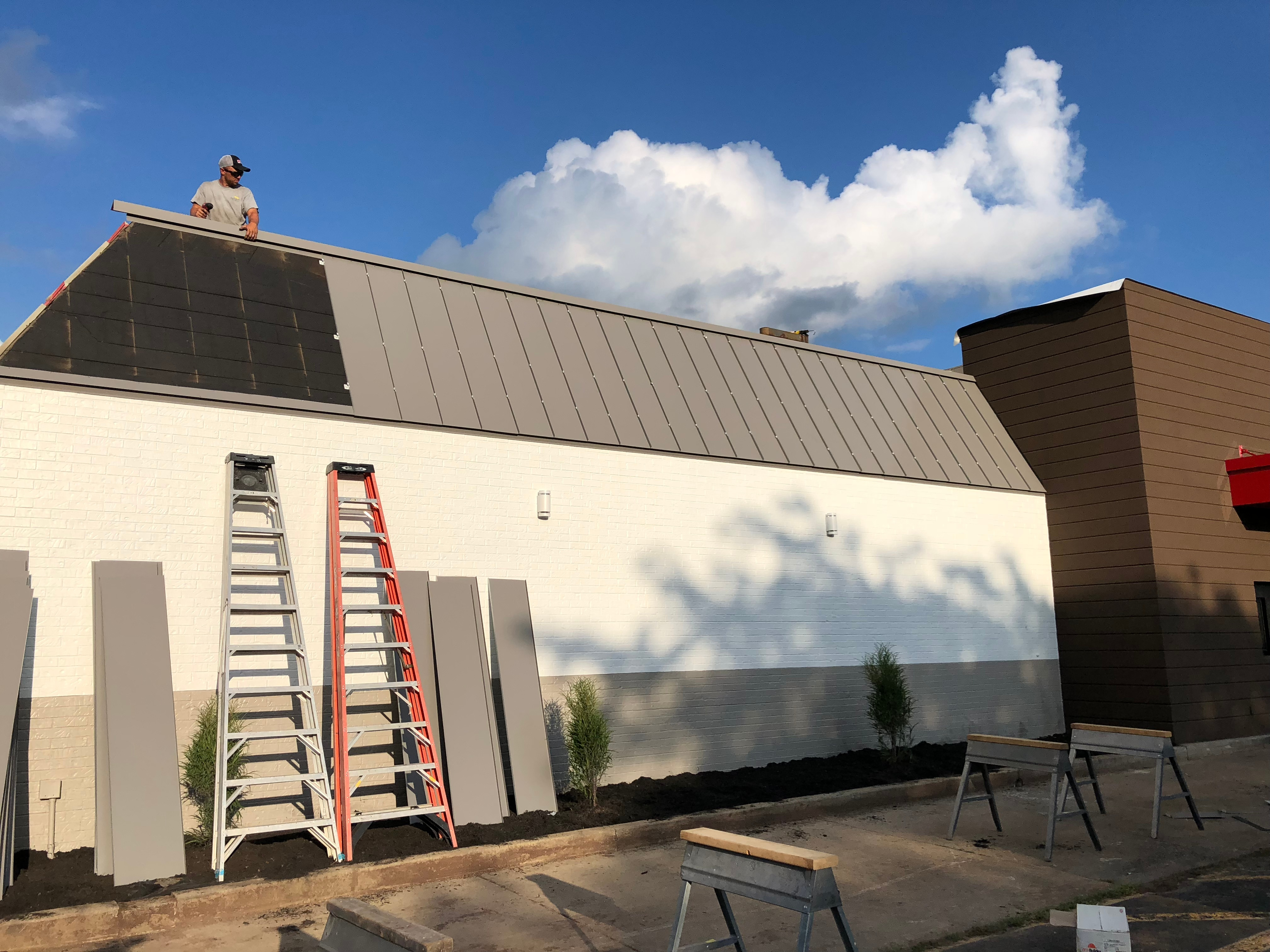 Standing Seam Metal Roof Installation Metal Coping-Winchester