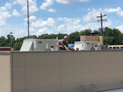 Custom Metal Coping Installation- Princeton