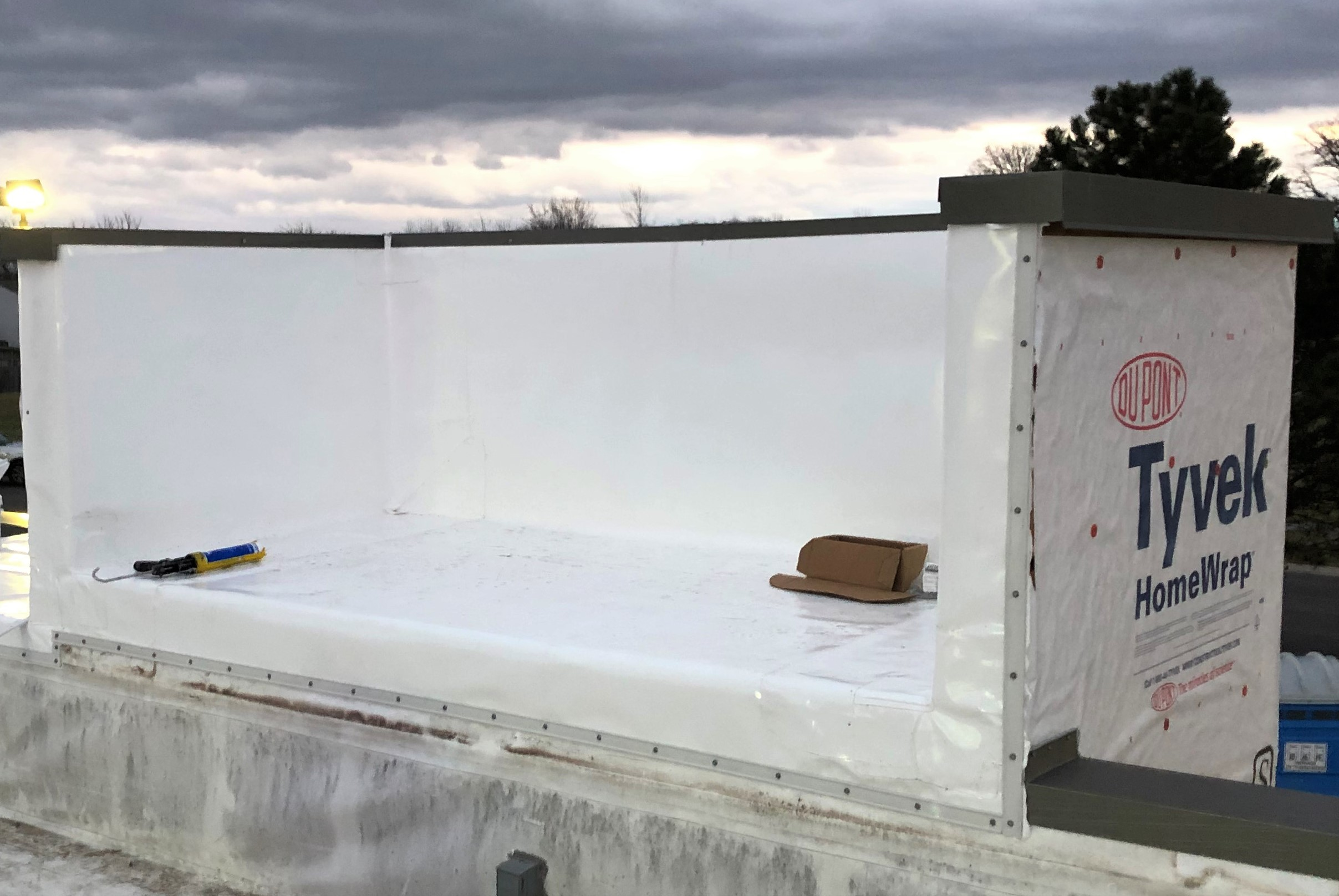 Flat Roof Membrane Installation and Repair- Whiteland, IN