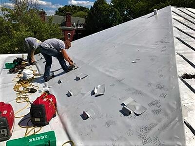 Metal Roof Recover Snow Guard Installation- BadApple.jpg