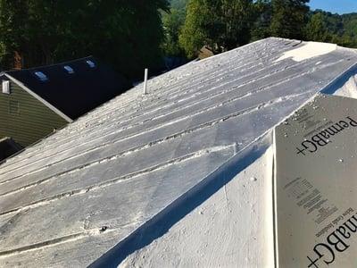 Metal Roof Retrofit Insulaiton Installation- BadApple.jpg
