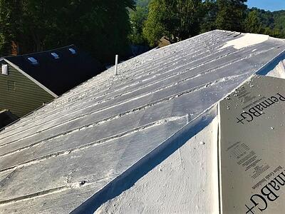 Metal Roof Retrofit Insulaiton Installation- BadApple.jpg