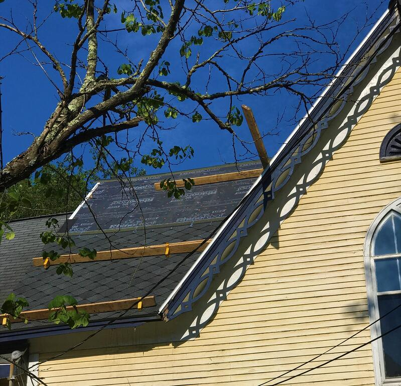 Designer Sienna Shingle Installation Historical Roof Repair- NorthVernon