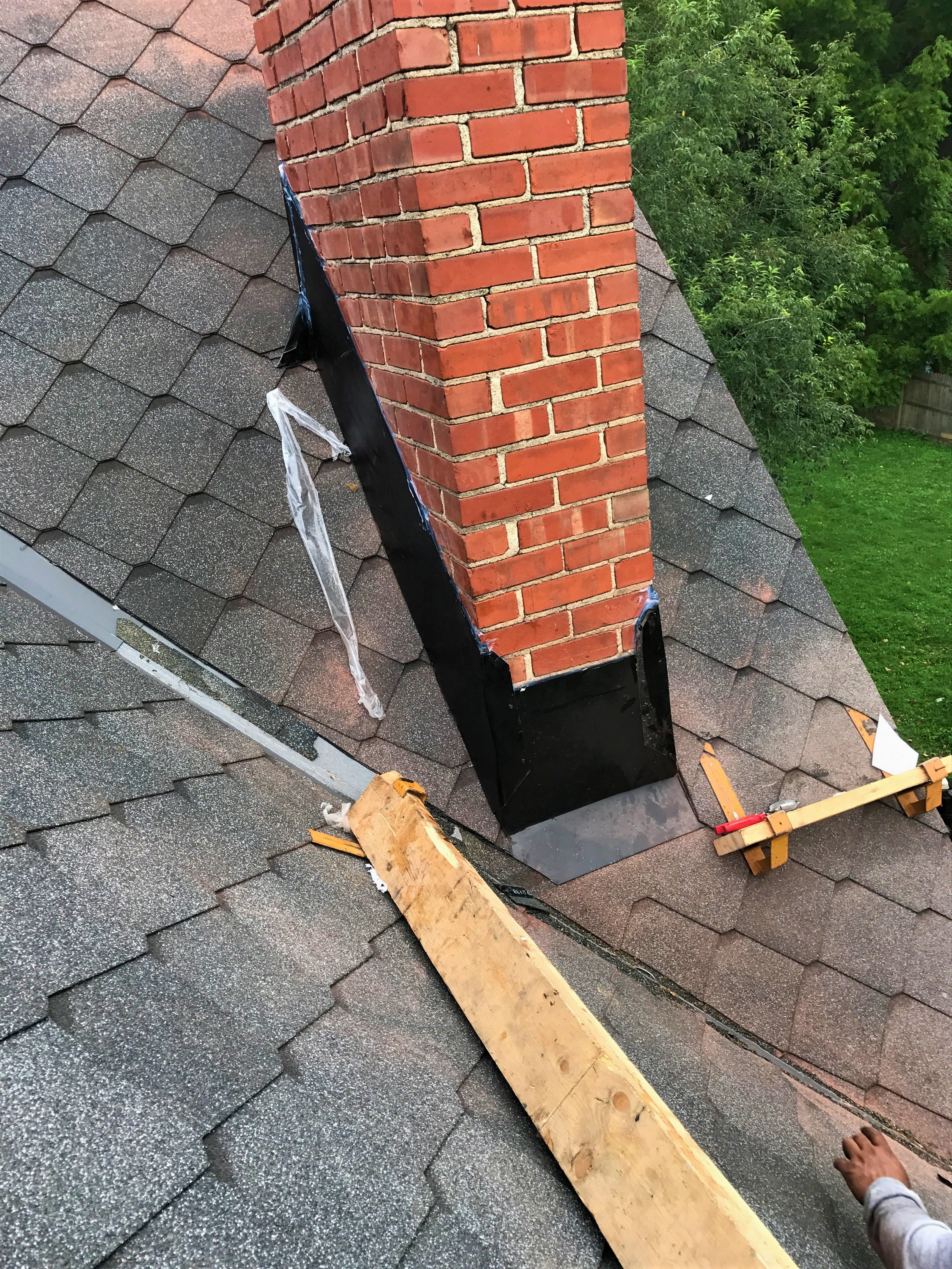 Chimney Shingle Installation Historical Roof Repair- NorthVernon