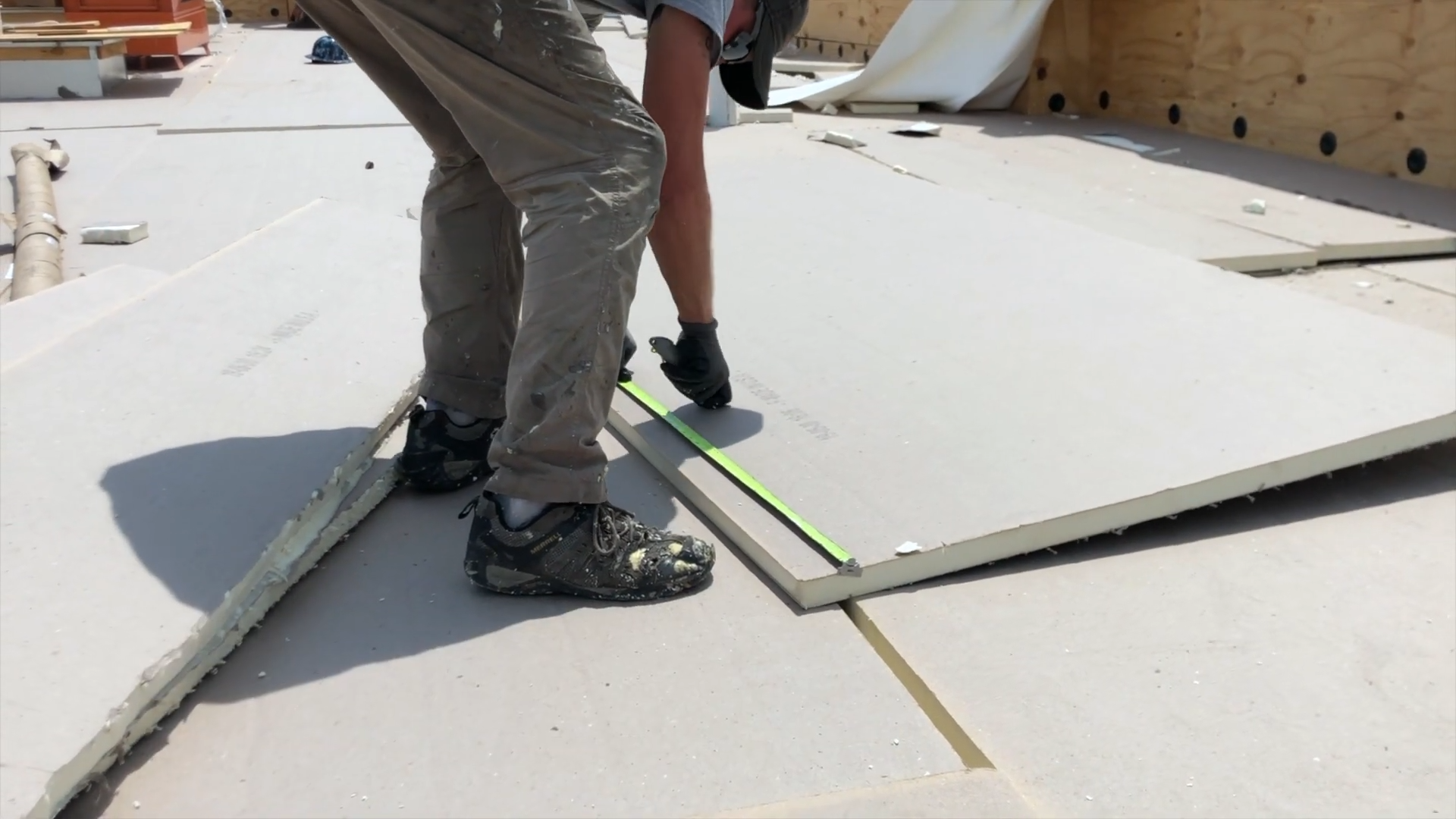 Flat Roof Insulation Installation- Dixie Hwy