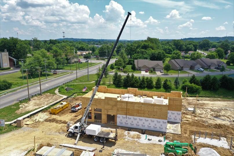 Flat Roof Installation Lift- Greenwood