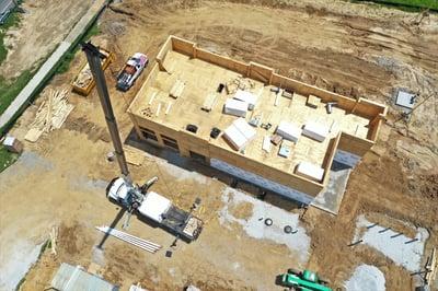 Flat Roof Insulation Installation- Greenwood