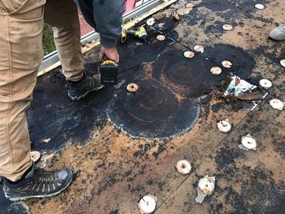 Flat Roof Repair Rhinobond System- CU