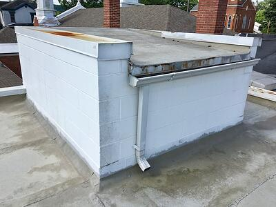 Flat Roof Repair Section 2-First Baptist Church.jpg
