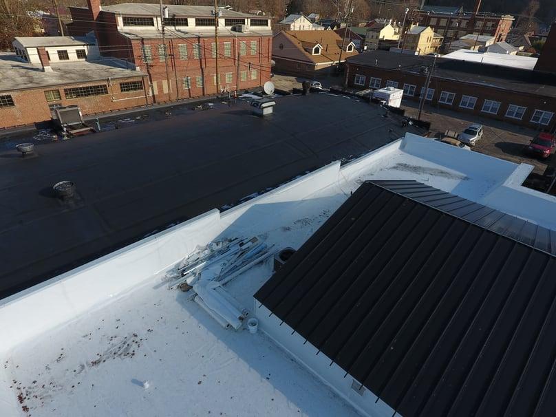 Flat Roof Installation-Madison