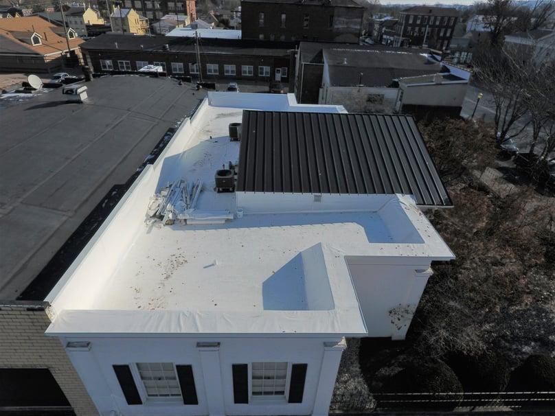 Flat Roof Standing Seam Metal Roof-Madison
